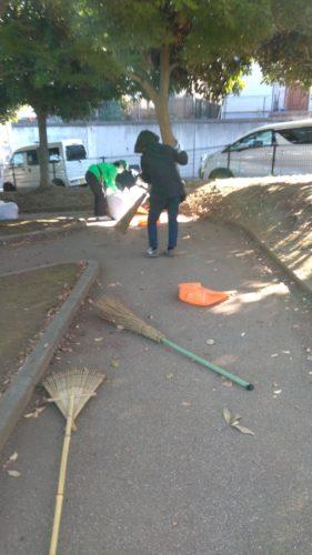 梅林公園清掃1
