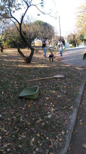 梅林公園清掃2