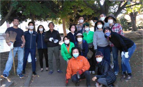 梅林公園清掃5